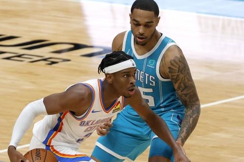 Charlotte Hornets at Oklahoma City Thunder game thread