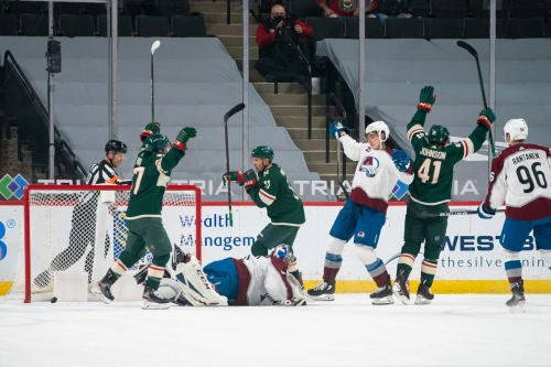 A game to forget: Colorado Avalanche lose 8-3 to the Minnesota Wild