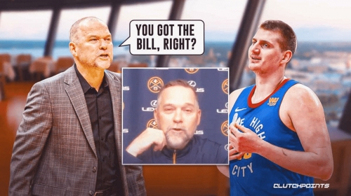 Nuggets' Nikola Jokic hilariously left with bill after Mike Malone's ejection