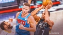 Blake Griffin reacts to first game playing with Kevin Durant