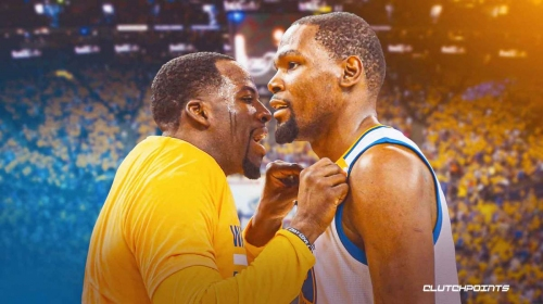 Warriors' Draymond Green reveals NSFW comment to Kevin Durant in famous meme