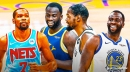 Draymond Green, Kevin Durant debunk 'crying in parking lot' story