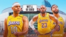 Lakers' LeBron James, Anthony Davis' return dates, per Jared Dudley