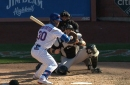 MIA 2, NYM 3; Bass blows it again, with umpire assist