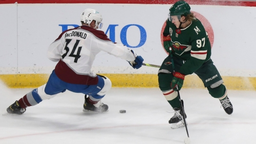 Avalanche's MacDonald suspended two games for head hit on Wild's Hartman