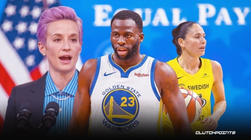Warriors' Draymond Green's true feelings on being criticized for women's pay comments by Megan Rapinoe