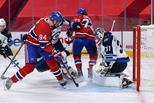 The only thing consistent about the Canadiens is their inconsistency