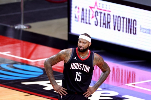 Despite finding a small rhythm, DeMarcus Cousins could never boogie with Rockets