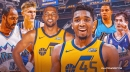 Donovan Mitchell's hilarious reaction to Derrick Favors's shocking Jazz milestone