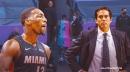 Heat's Bam Adebayo, Erik Spoelstra provide update on Victor Oladipo injury