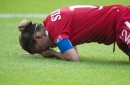Christine Sinclair leaves Canada match vs. Wales with apparent injury