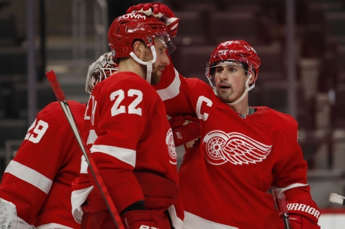 Red Wings trade defenseman Patrik Nemeth to Avalanche in exchange for a 2022 draft pick