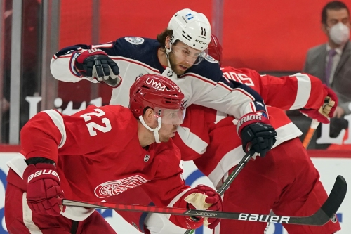 Detroit Red Wings' first move before NHL trade deadline: Patrick Nemeth to Avs' 4th-round pick