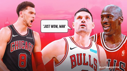 Bulls star Nikola Vucevic's astonished take on Zach LaVine's 50-point night
