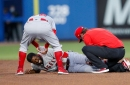 Dexter Fowler expected to be fine after leaving game with injury