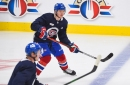 Habs lines at practice: Otto Leskinen gets a look