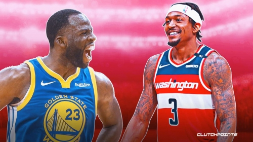 Wizards' Bradley Beal's hilarious gesture to Draymond Green after sinking Warriors
