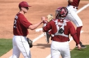 South Carolina vs. Missouri game 2 recap: Gamecocks top Tigers 11-1, even series
