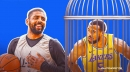 Nets star Kyrie Irving puts Lakers forward Talen Horton-Tucker in the torture chamber with nasty fadeaway