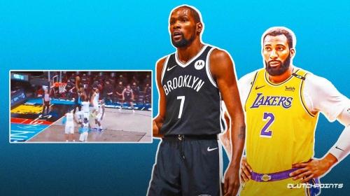 VIDEO: Nets star Kevin Durant detonates for the poster slam on Andre Drummond
