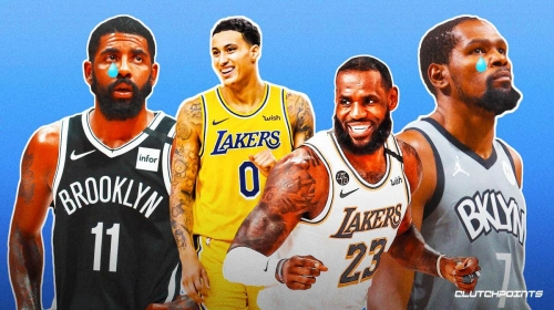 Lakers' Kyle Kuzma trolls Kevin Durant, Nets with hilarious LeBron James meme