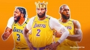 Lakers stars LeBron James, Anthony Davis flex their guns after Andre Drummond bullies LaMarcus Aldridge