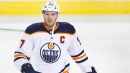 McDavid, Oilers question NHL's decision to schedule game after Cave memorial