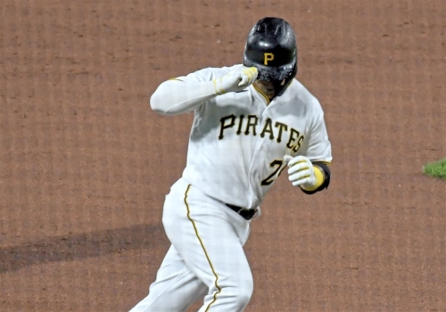 Phillip Evans remains hot to start the Pirates' 2021 season