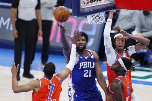 The good and the bad of Joel Embiid's post passing