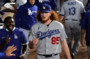 Dodgers do 'pitching gymnastics' in advance of first series vs. Padres