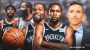 Nets star Kevin Durant about to explode in fantasy basketball with Kyrie Irving, James Harden absent