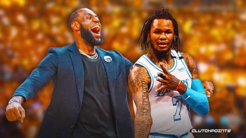 LeBron James hypes up Ben McLemore after 17-point game for Lakers