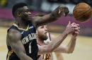 Shorthanded Cavaliers can't contain Williamson, fall to Pelicans 116-109
