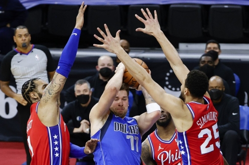 Sixers head to Dallas to face Luka Doncic's Mavericks