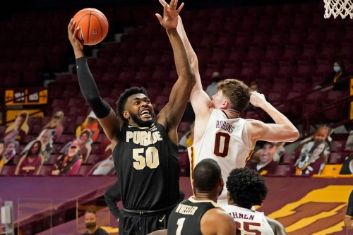 Purdue center Trevion Williams declares for NBA Draft without hiring an agent