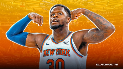 Knicks star Julius Randle's one-word reaction to facing Lakers