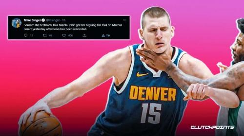 NBA reacts to Nikola Jokic's technical foul in Nuggets vs. Celtics