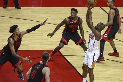 Rockets to close out season-series tonight vs Suns