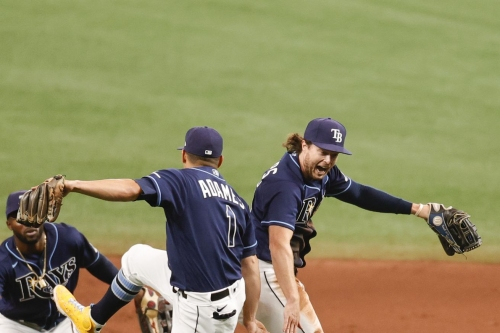 Rays 1 , Rangers 0 - Rays Get Rings and Rangers Get Rung Up