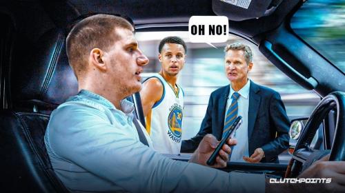 Steve Kerr's perfect response on how to slow down Nuggets star Nikola Jokic