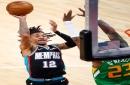 Watch Grizzlies' Ja Morant throw down sick, one-handed alley-oop dunk