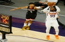 Jae Crowder, Phoenix Suns scorch Houston Rockets from 3 in victory; tie NBA record for a half