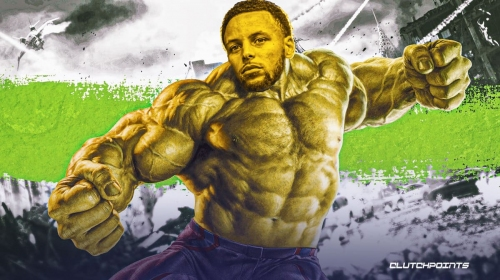 Stephen Curry turns into the Incredible Hulk after 53-point explosion