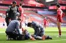 Jack Grealish and Mo Salah react as Aston Villa confirm Trezeguet injury