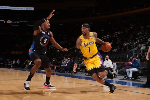Lakers News: Kentavious Caldwell-Pope Explains Difference Between Knicks & Nets Performances