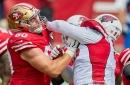 49ers' offensive lineman Daniel Brunskill signs one-year tender