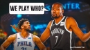 Nets star Kevin Durant speaks out on top-seed showdown with Joel Embiid, Sixers
