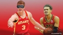 Hawks star Trae Young's hilarious reaction to awesome Kevin Huerter no-look trick shot