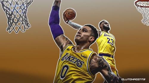 VIDEO: Lakers' Kyle Kuzma channels inner LeBron James in posterizing Bismack Biyombo