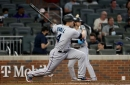 Braves downed by Duvall, Marlins in 14-8 blowout loss